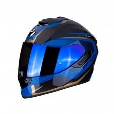Scorpion EXO-1400 AIR CARBON ESPRIT Black-Blue