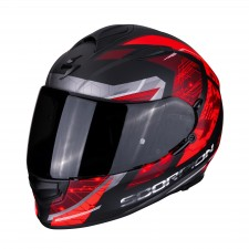Scorpion EXO-510 AIR CLARUS Matt Black-Red