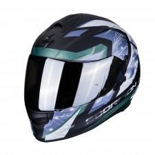 Scorpion EXO-510 AIR CLARUS Matt black-Silver
