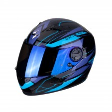 Scorpion EXO-490 NOVA Black-Blue