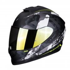 Scorpion EXO-1400 AIR SYLEX Matt Black-Silver