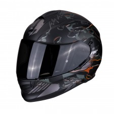 Scorpion EXO-510 AIR LIKID Matt Black-Orange