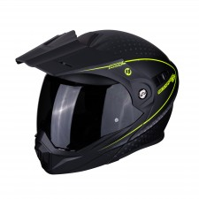 Scorpion ADX-1 HORIZON Matt Black-Neon yellow