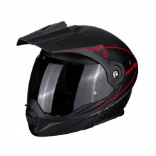 Scorpion ADX-1 HORIZON Matt Black-Neon red