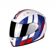 Scorpion EXO-710 AIR GT White-Blue-Red