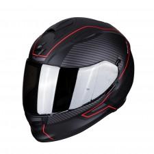 Scorpion EXO-510 AIR FRAME Matt Black-Red