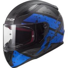 LS2 FF353 RAPID DEADBOLT MATT NOIR BLUE