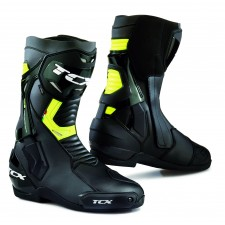 TCX ST-FIGHTER WP Noir/Jaune FLUO