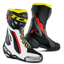 TCX RT-RACE PRO AIR Blanc/Rouge/Jaune FLUO