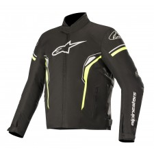 Alpinestars T-sp-1 Waterproof Jacket Noir Jaune Fluo