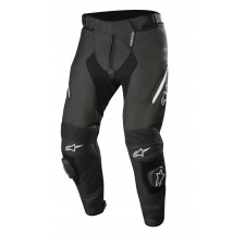 Alpinestars Missile V2 Leather Pants Noir Blanc