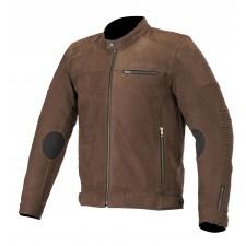 Alpinestars Warhorse Leather Jacket Tobacco Brown