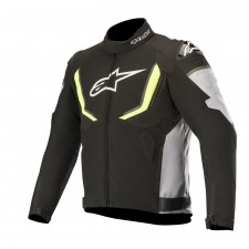 Alpinestars T-gp R V2 Waterproof Jacket Black Gray Yellow Fluo