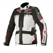 Alpinestars Stella Andes Pro Drystar Jacket Tech-air Compatibl Light Gray Black Dark Gray Red