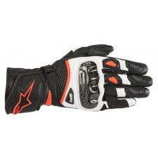 Alpinestars Stella Sp-1 V2 Gloves Black White Red Fluo