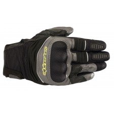 Alpinestars Crosser Air Touring Glove Black Anthracite Yellow Fluo