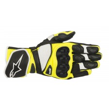 Alpinestars Sp-1 V2 Gloves Black White Yellow Fluo