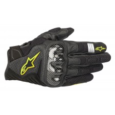 Alpinestars Smx-1 Air V2 Gloves Black Yellow Fluo