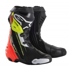 Alpinestars Supertech R Black Red Yellow Fluo