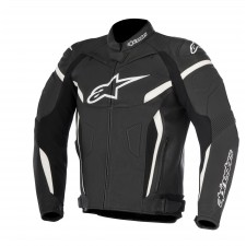 Alpinestars Gp Plus R V2 Leather Jacket Black White