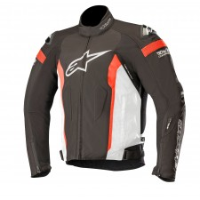Alpinestars T-missile Drystar Jacket - Tech-air Compatible Black White Red Fluo