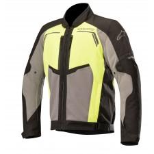 Alpinestars Durango Air Jacket Black Dark Gray Yellow Fluo