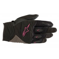 Alpinestars Stella Shore Gloves Black Fuchsia