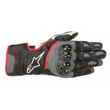 Alpinestars Sp-2 V2 Gloves Black Gray Red Fluo