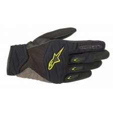 Alpinestars Shore Gloves Black Yellow Fluo