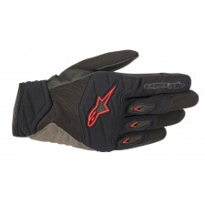 Alpinestars Shore Gloves Black Red