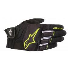 Alpinestars Atom Gloves Black Yellow Fluo