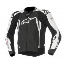 Alpinestars Gp Tech V2 Leather Jacket Tech-air Compatible Black White