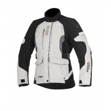 Alpinestars Stella Andes V2 Drystar Jacket Light Gray Black Dark Gray