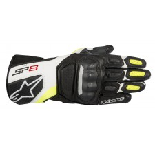 Alpinestars Sp-8 V2 Gloves Black White Yellow Fluo