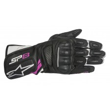 Alpinestars Stella Sp-8 V2 Gloves Black White Fuchsia