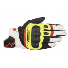 Alpinestars Sp-5 Gloves Black Yellow Fl White Red Fl