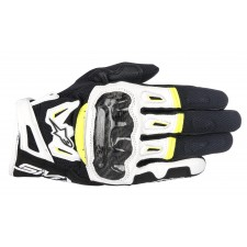 Alpinestars Smx-2 Air Carbon V2 Glove Black White Yellow Fluo