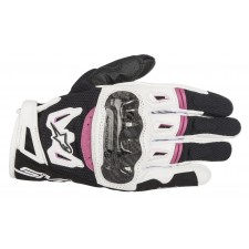 Alpinestars Stella Smx-2 Air Carbon V2 Glove Black White Fuchsia