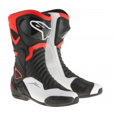 Alpinestars Smx-6 V2 Black Red Fluo White