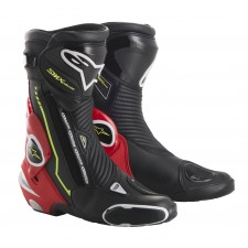 Alpinestars Smx Plus Black Red Fluo White Yellow Fl