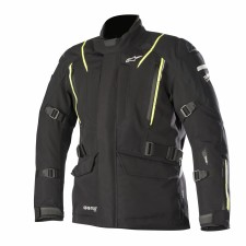 Alpinestars Big Sur Gore-tex Pro Jacket Tech-air Compatible Black Yellow Fluo