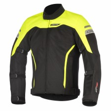 Alpinestars Leonis Drystar Air Jacket Black Yellow Fluo