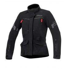 Alpinestars Stella Valparaiso 2 Drystar Jacket Black Gray Red
