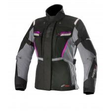 Alpinestars Stella Bogota V2 Drystar Jacket Black Dark Gray Fuchsia