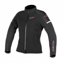 Alpinestars Stella Stratos Techshell Drystar Jacket Black Fuchsia
