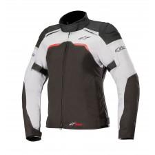 Alpinestars Stella Stratos Techshell Drystar Jacket Black Light Gray Fuchsia
