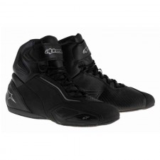 Alpinestars Faster-2 Waterproof Shoes Black Gun Metal