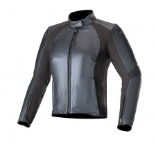 Alpinestars Vika V2 Womens Leather Jacket Metallic Blue