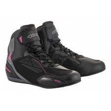 Alpinestars Stella Faster-3 Drystar Shoes Black Dark Gray Fuchsia