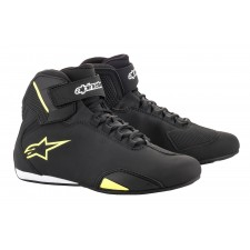 Alpinestars Sektor Shoe Black Yellow Fluo